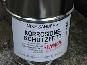 Hohlraumversiegelung, Hohlraumkonservierung mit Mike Sander's Korrosionsschutzfetten ab 550 € bei Blech Company