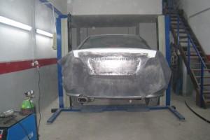 Mitsubishi Galant Heckklappe cleanen und verzinnen